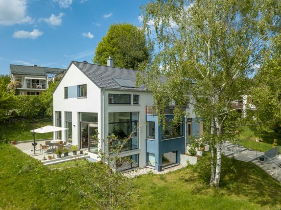 Mehrfamilienhaus Starnberg Aussenaufnahme Drohne