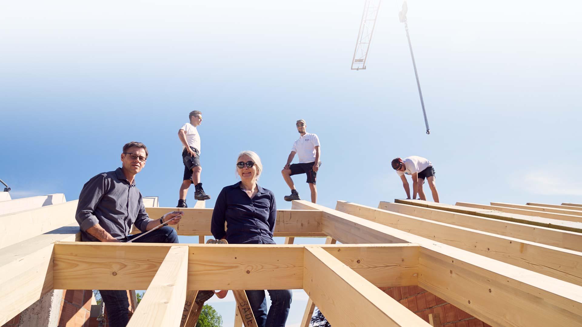 Dachstuhlarbeiten Architekturbüro von Czettritz